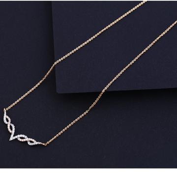 18KT Rose Gold Designer Necklace Tanmaniya RTM214