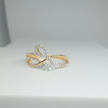 18KT Yellow gold Special Occasion ring for ladies LRG0568