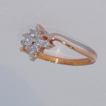 18K gold diamond ring agj-lr-254