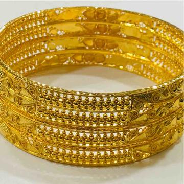22kt 916 exclusive ladies kada/bangle by Prakash Jewellers