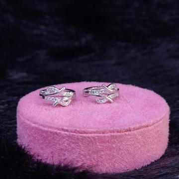 92.5 Sterling Silver Micaela Hoop Earrings For Women