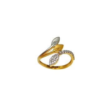 22K Gold Modern Ladies Ring MGA - LRG1178