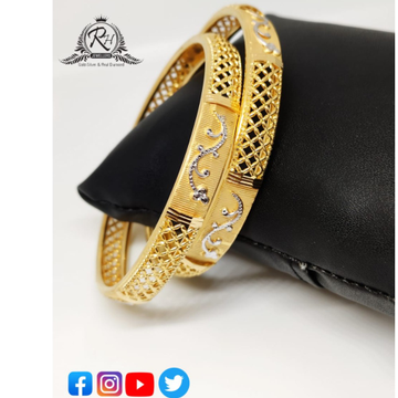 22 carat gold ladies bangles RH-LB536