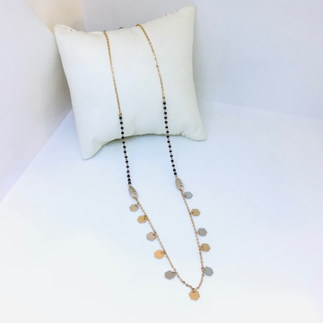 BRANDED ROSE GOLD FANCY MANGALSUTRA by