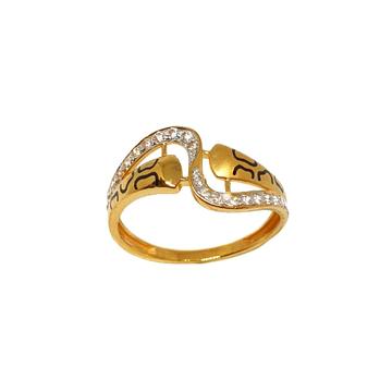 22K Gold Modern Ring MGA - LRG1091