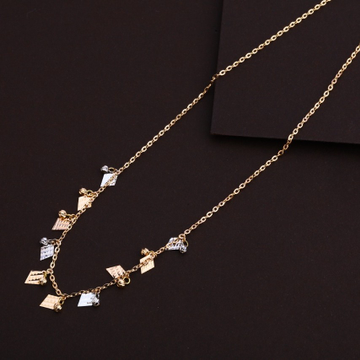 18CT rose gold chain by