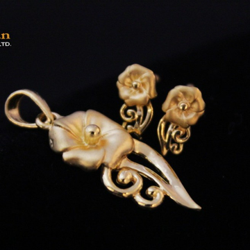 22ct(916) pendal set by