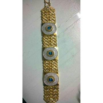 22K / 916 Gold Gents Attractive Bracelet ( Lucky )