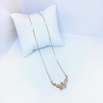 DESIGNING FANCY ROSE GOLD CHAIN FOR LADIES by