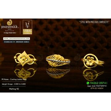 916 Unique Design Plain Casting Ladies Ring LRG -0560