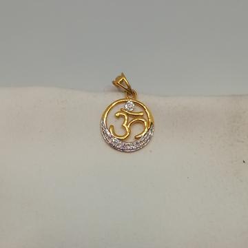 18kt pendants by Rangila Jewellers