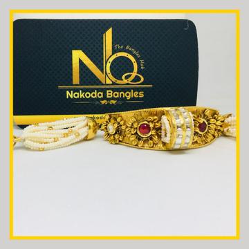 916 Gold Antique Bracelet NB - 1032