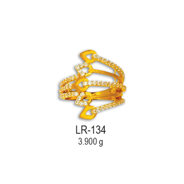CZ-Gold-Fancy-Ladies-Ring-LR-134