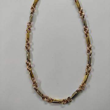 indo Italian lesser print Design 916 Gold Chain