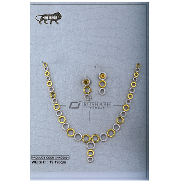 22 Carat 916 Gold Ladies necklace nkg0024