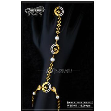 22 Carat 916 Gold Ladies hath panja hpg0017 by