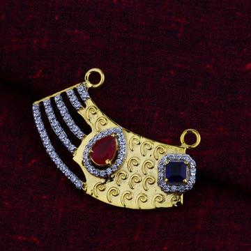 18ct Gold Designer   Mangalsutra Pendant  MSFP06