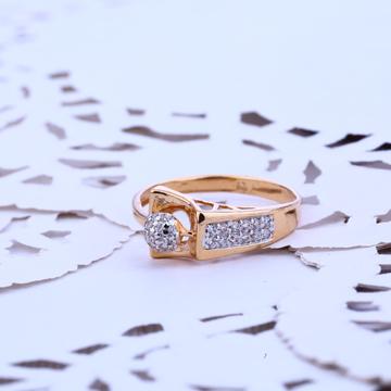 18K Rose Gold Fancy Ring-RLR102