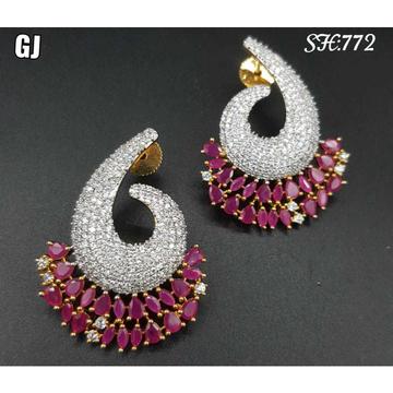 Beautiful Diamond Earrings#1054