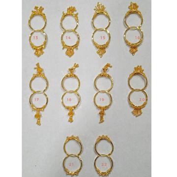 18 carat gold ladies earrings rh-lE912