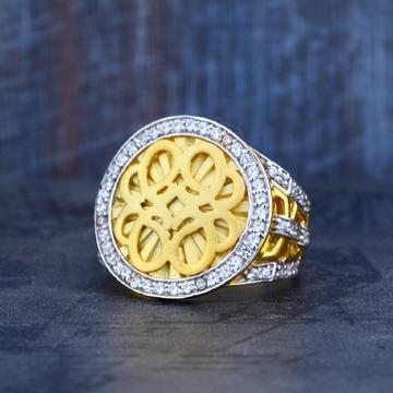 Mens 22ct Gold Fancy Ring-MR02