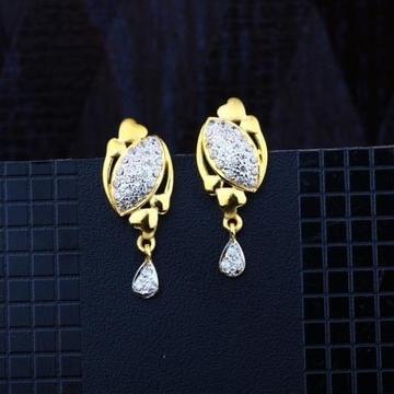 916 Gold CZ Earring RH-ER088