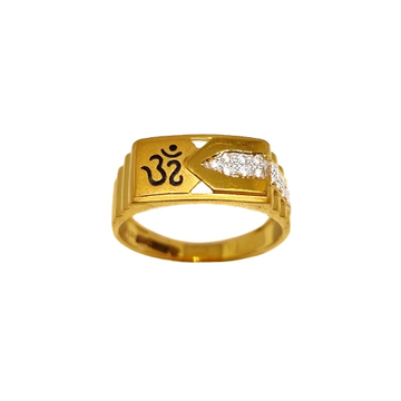 22K Gold Om Ring MGA - GRG0227