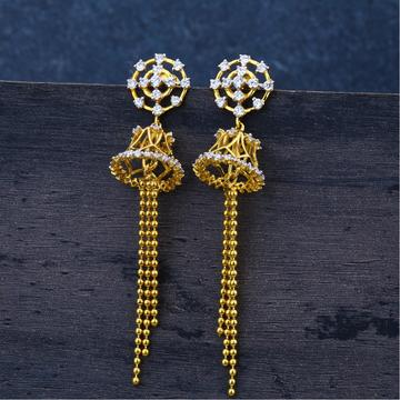 Ladies  Jummar earrings classic 22K -lje54