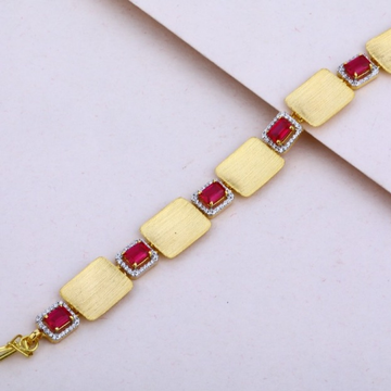 22 carat gold ladies Italian bracelet RH-LB568