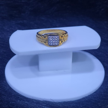 22KT/916 Yellow Gold Divine Ring For Men