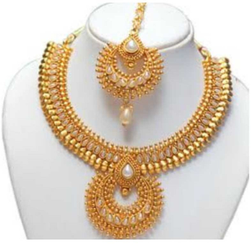 arrivals shop bead asian ball ladies new strand indian chain seven yellow gold necklace