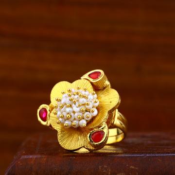 22kt gold hallmark ring lar25