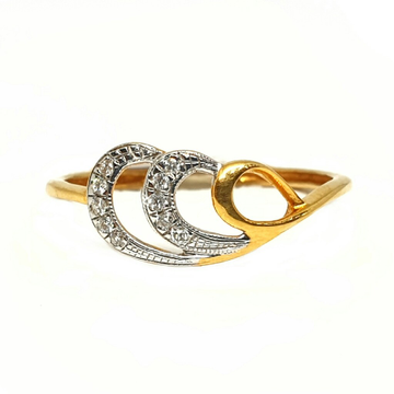 18K Gold Real Diamond Ring MGA - RDR0020
