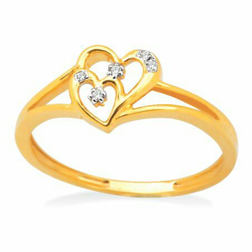 18k gold real diamond ring mga - rdr0037