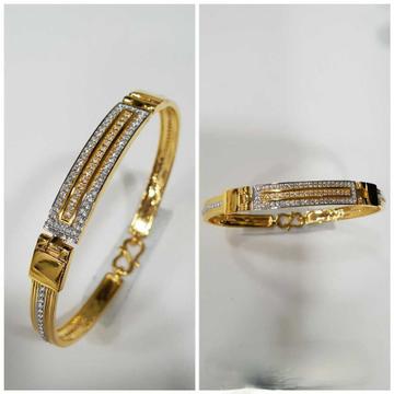 916 Men's Fancy Gold Bracelet G-3422