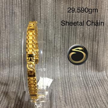 916 Gold Bracelet SC-PQ5508