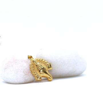 22Kt / 916 Gold Delicate Ganpatiji Pendant For Uni... by