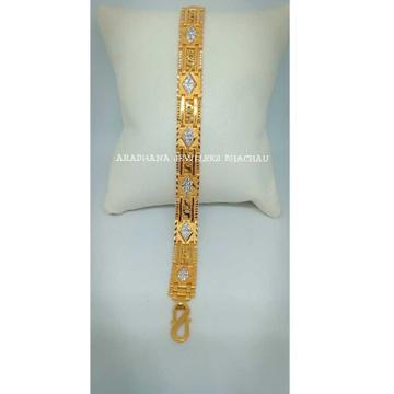 916 Gold Hallmarked Antique Stone Lucky