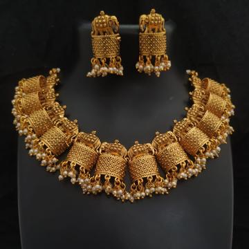 antique bridal necklace#154