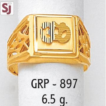 Om Gents Ring Plain GRP-897