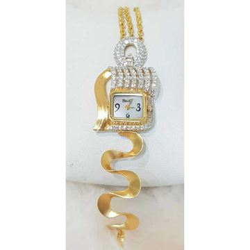 18k Ladies Exclusive Fancy Watch G-2915