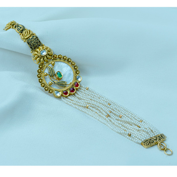 916 gOLD Antique Double Shade Bracelet LB-567 by
