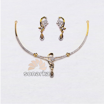 22k-CZ-Light-Weight-Gold-Necklace-Set