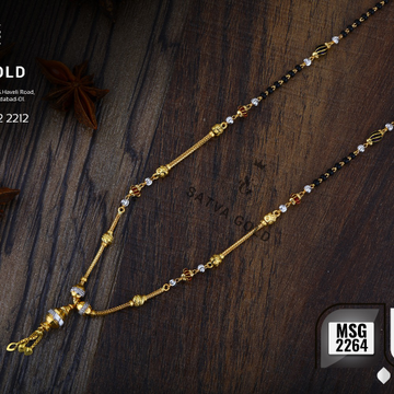 916 Gold mangalsutra msg-2264