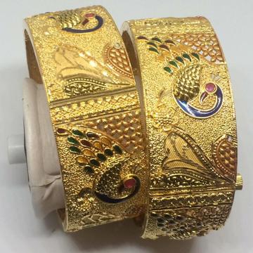 916 Gold Peacock Desgin Patala