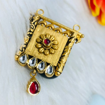 916 gold jadtar mangalsutra pendants msp
