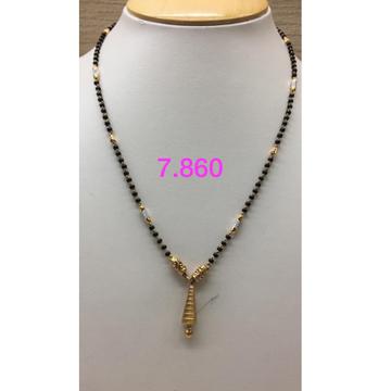 916 Gold Antique Mangalsutra IO-M09