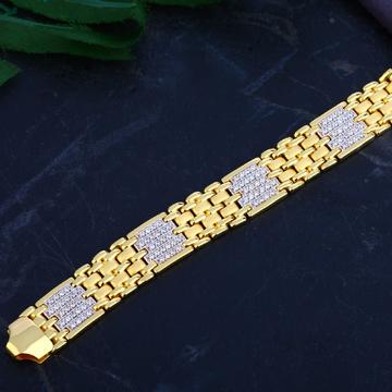 Mens Gold Bracelet-MCB72