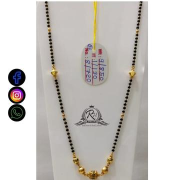 22 carat gold antique ladies mangalsutra RH-MN641