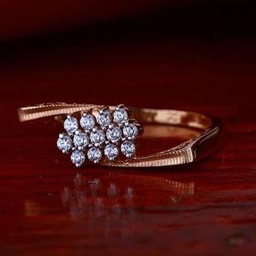 18Kt Rose gold Premium Ladies Ring RH-GR66